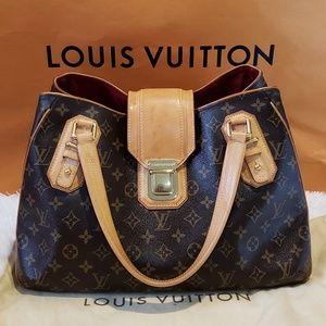 100% Auth Louis Vuitton Griet Tote Bag